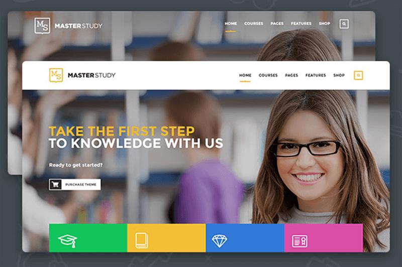 适用于教育机构的WordPress主题-Masterstudy
