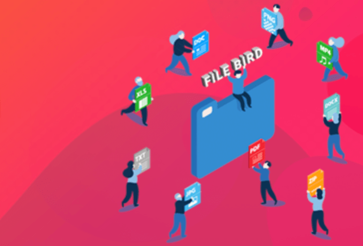 WordPress媒体库图片分类插件:<span>FileBird</span>